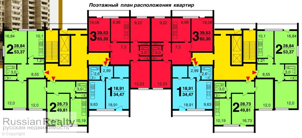 Серия дома и-522а russianrealty.