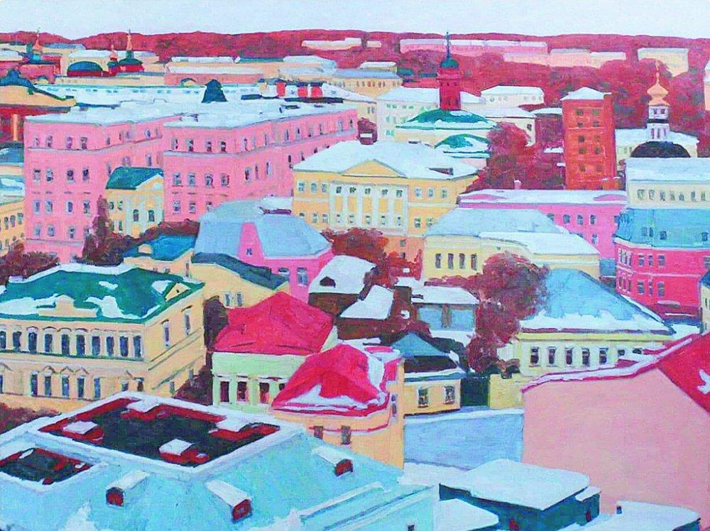 Увидеть Москву глазами художника